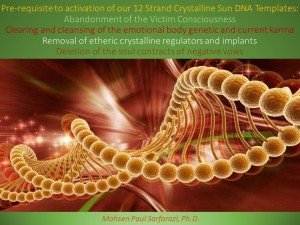 Pre-requisites to DNA activation